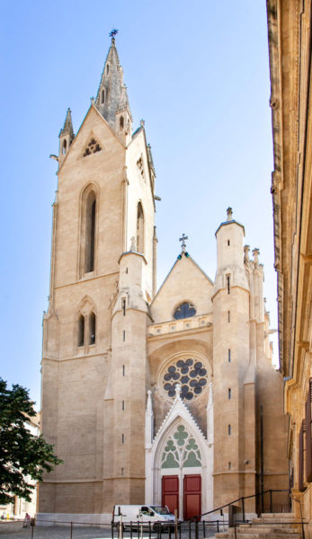 Facciata della chiesa di Saint Jean de Malte - Aix en Provence