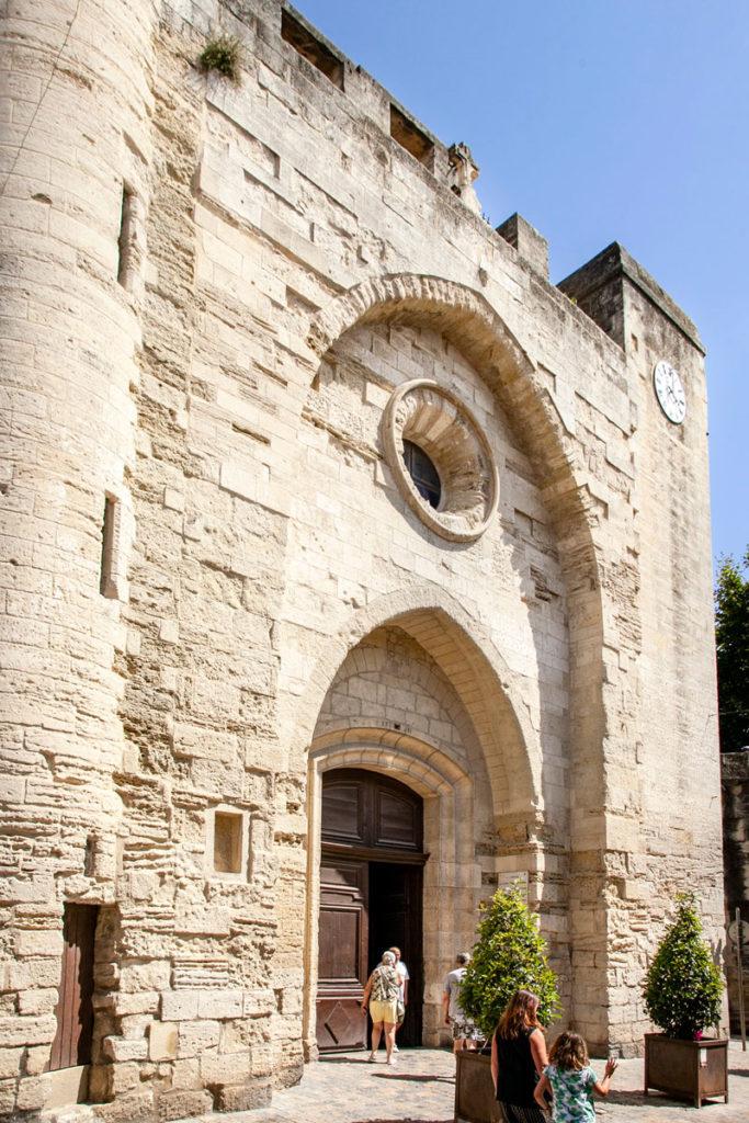 Facciata di Notre Dame des Sablon