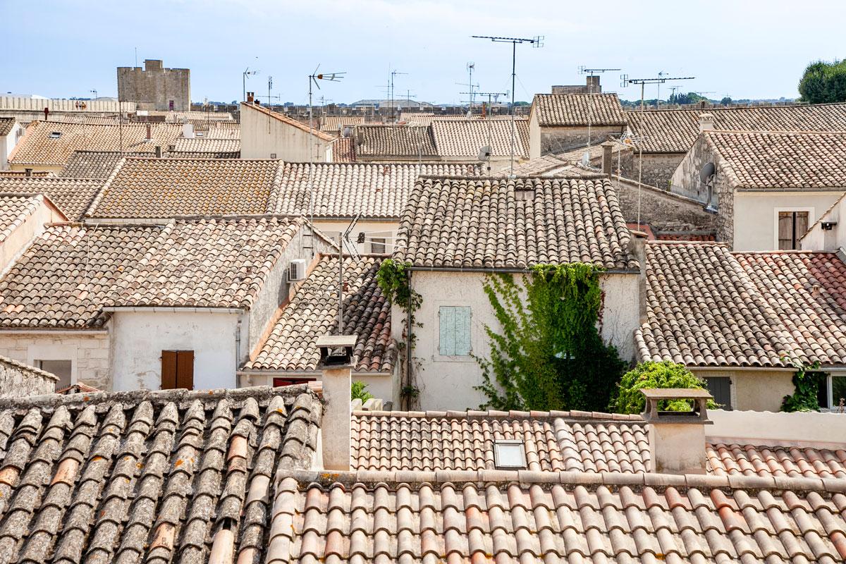 Il centro storico di Aigues Mortes