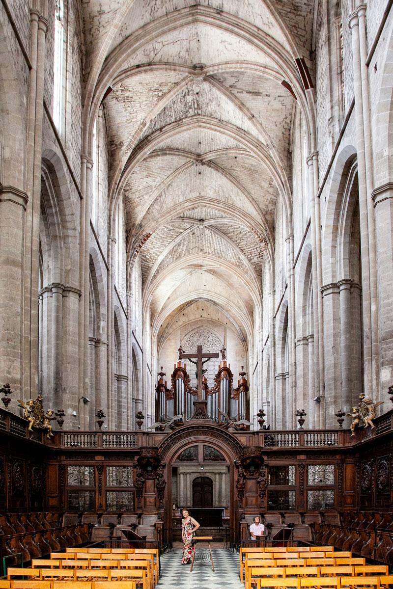 Il coro ligneo della Basilica - Provenza