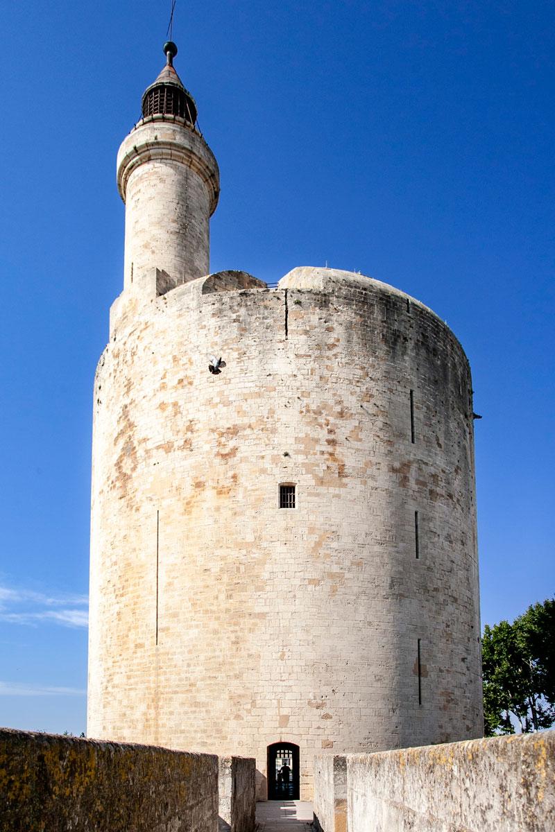 Ingresso alla torre di Costanza di Aigues Mortes