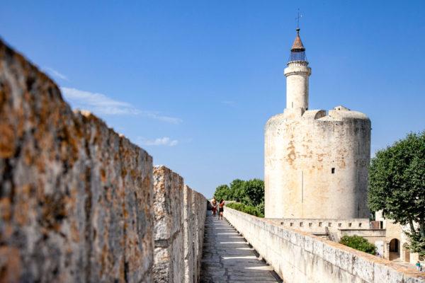 Le Mura cittadine di Aigues Mortes e la torre di Costanza