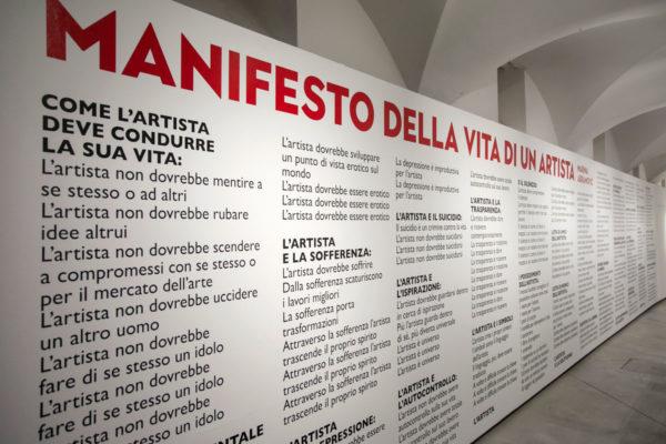 Manifesto della vita di un artista - Marina Abramović