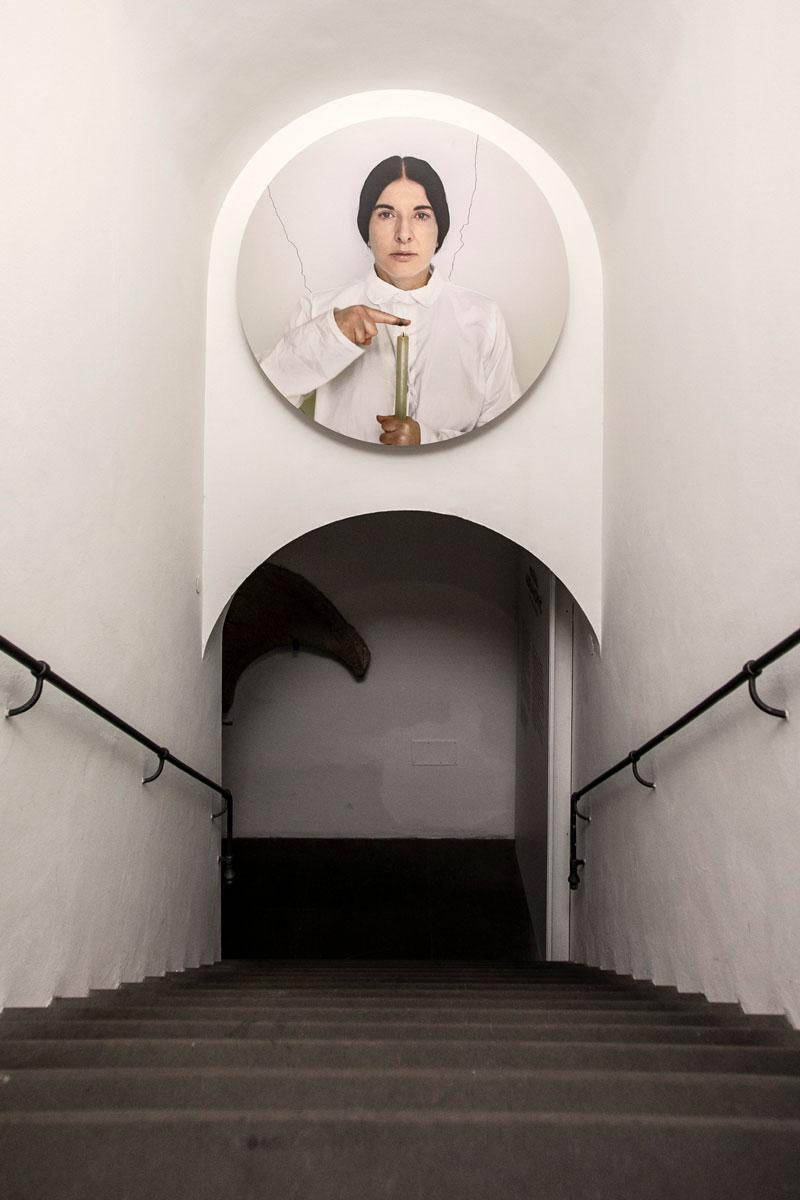 Marina Abramović a Firenze - Palazzo Strozzi - Ingresso alla Strozzina