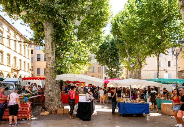 Mercato di Aix en Provence