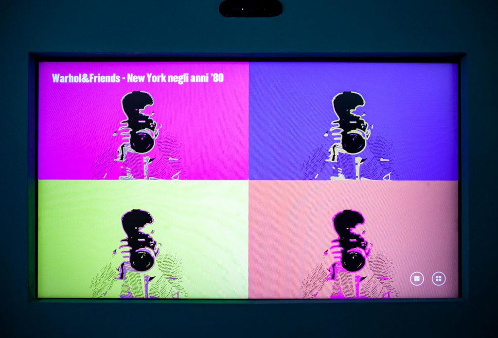 Mostra interattiva pop art