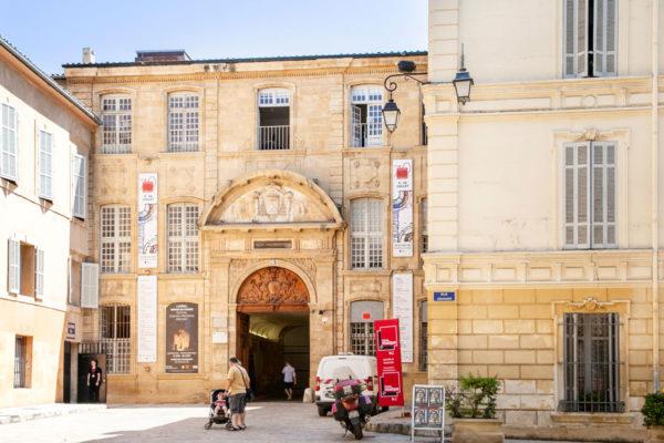 Musee des Tapisseries dentro ex palazzo arcivescovile di Aix en Provence