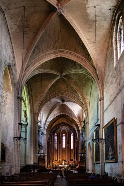 Navata interna della Cattedrale di Saint Sauveur - Aix en Provence