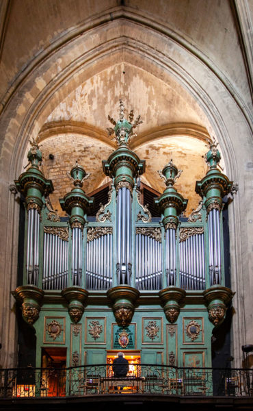 Organo nel duomo di Aix en Provence