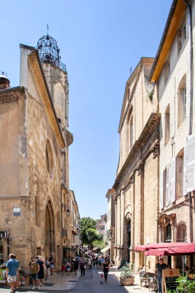 Passeggiata per il centro storico di Aix en Provence