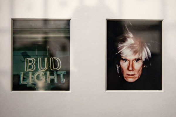 Polaroid Andy Warhol in mostra a Bologna