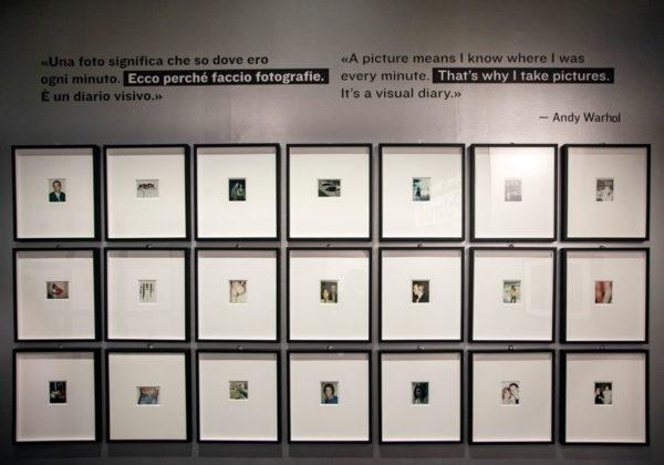 Polaroid scattate da Andy Warhol