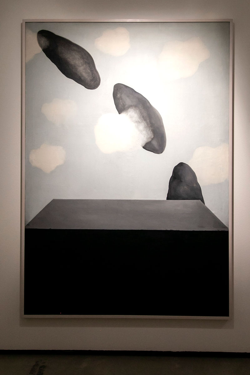 Quadro con Nuvole - Primi lavori di Marina Abramović