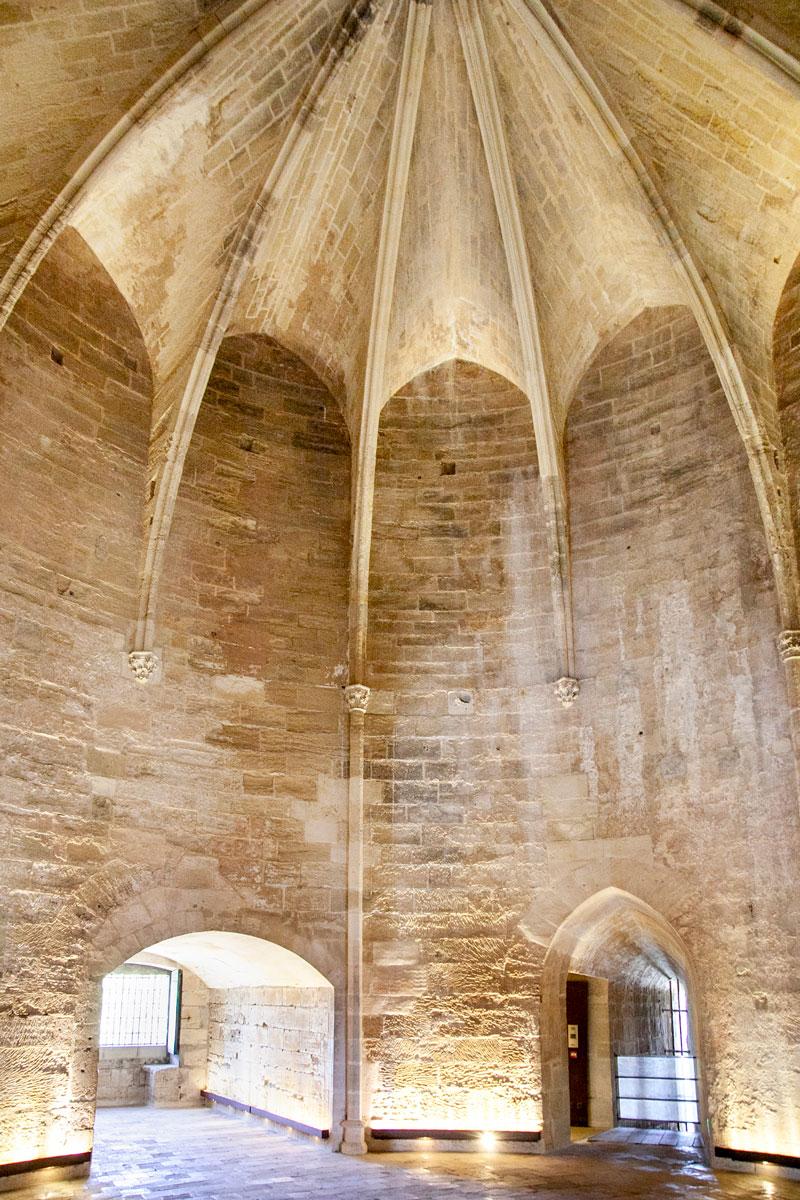Secondo piano della Constance Tower - prigione degli ugonotti