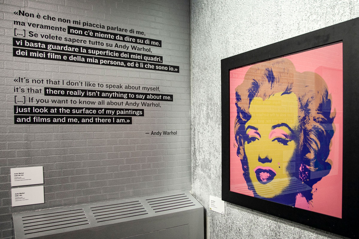 Serigrafia Marilyn Monroe di Andy Warhol