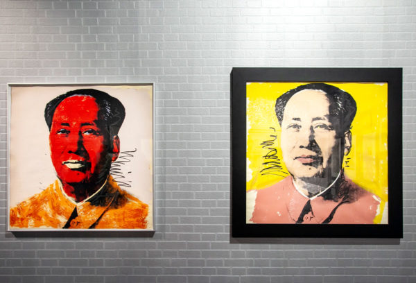 Serigrafia di Mao di Andy Warhol