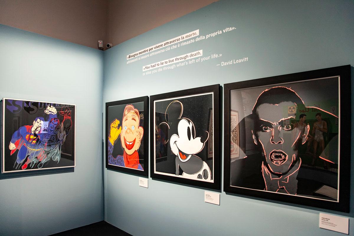 Serigrafie di Andy Warhol - Superman - Topolino - Dracula