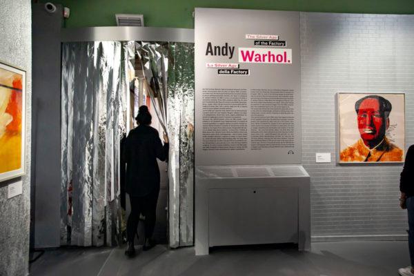 Silver Age della Factory - Warhol and Friends a palazzo Albergati
