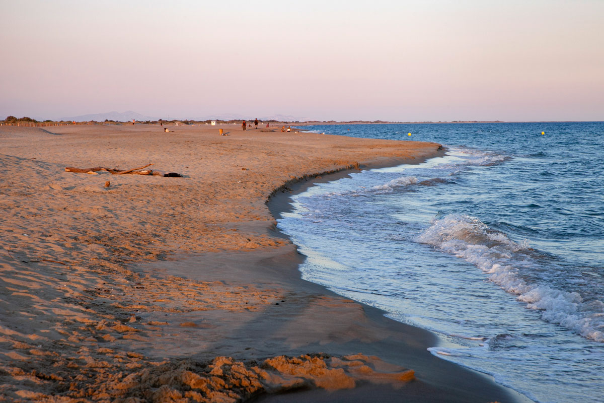 Spiaggia di Piemanson - spiaggia più a sud della Camargue - Francia