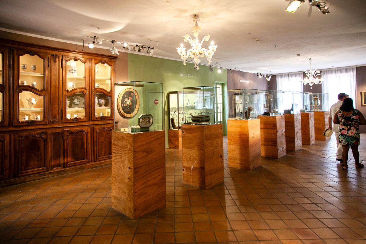 Teche nel museo del Profumo di Grasse