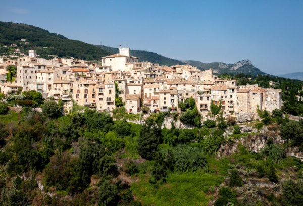 Tourrettes sur Loup Borgo sulle Alpi Marittime Provenza