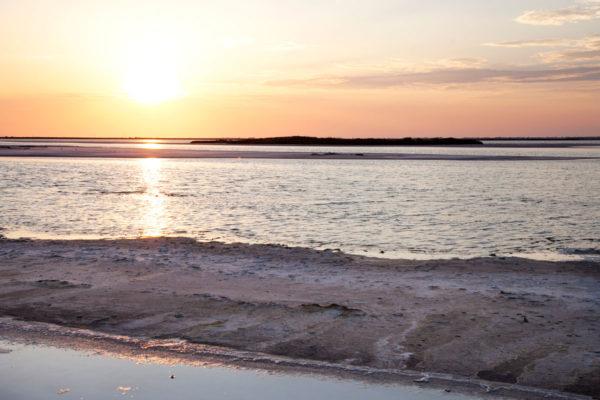 Tramonto in Camargue - Francia Romantica