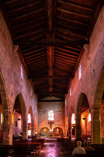 Tre navate interne di Notre Dame des Sablon