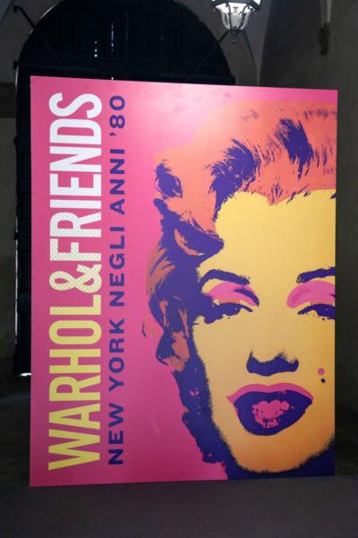 Warhol and Friends mostra a palazzo Albergati di Bologna