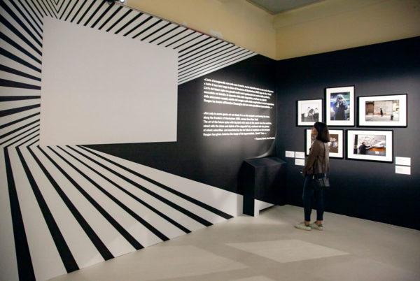 Warhol and Friends mostra arte - allestimento a palazzo Albergati