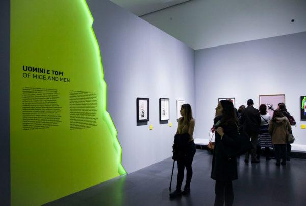 A Visual Protest - Mostra non autorizzata su Banksy - Pannelli espositivi