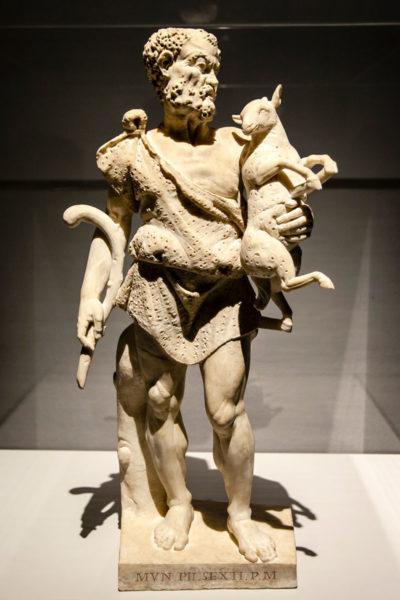 Antica Statua del Fauno