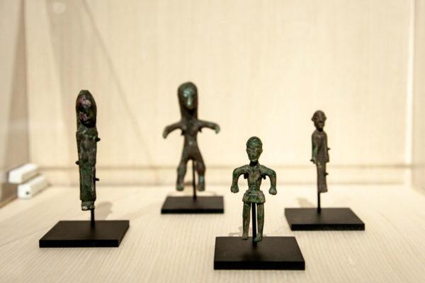 Antiche Statuette in mostra a Picasso Metamorfosi - Milano