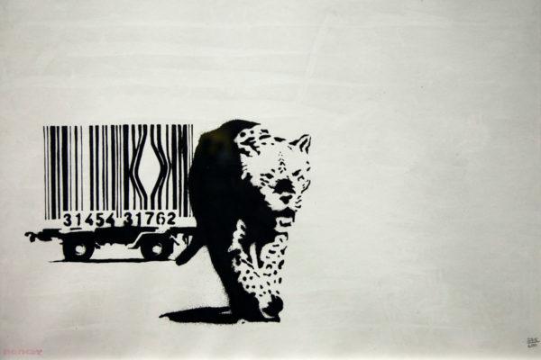 Barcode - Il consumismo che coinvolge anche il mondo animale e da un valore alla vita - Banksy al MUDEC
