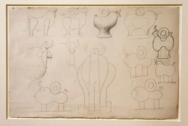 Bozzetto per progetti di ceramica - Pablo Picasso