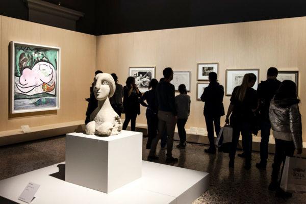 Busto de una mujer - Mostra Picasso Metamorfosi a Palazzo reale di Milano