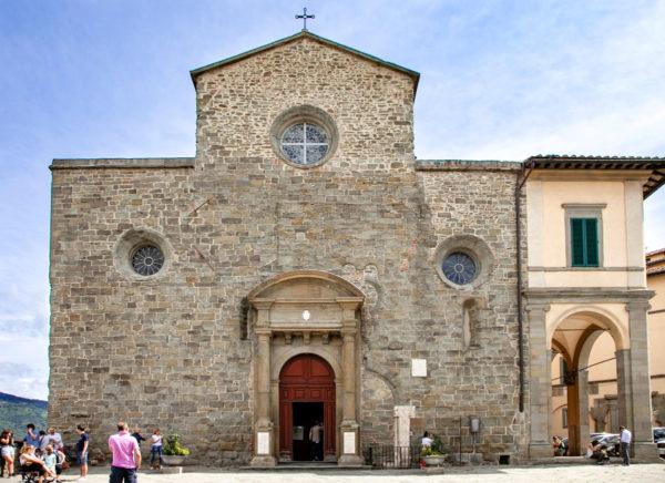 Cattedrale di Santa Maria Assunta di Cortona - Facciata Esterna