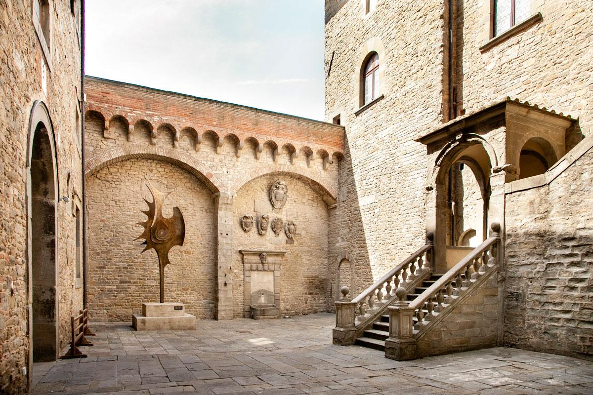 Cortile del MAEC - Museo Accademia Etrusca di Cortona