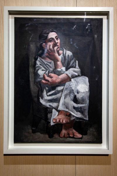 Dipinto Donna Seduta di Picasso - 1920