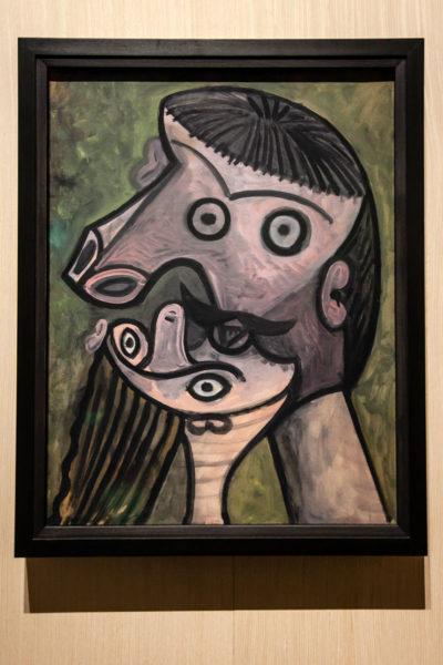Dipinto di Pablo Picasso - Le Baiser