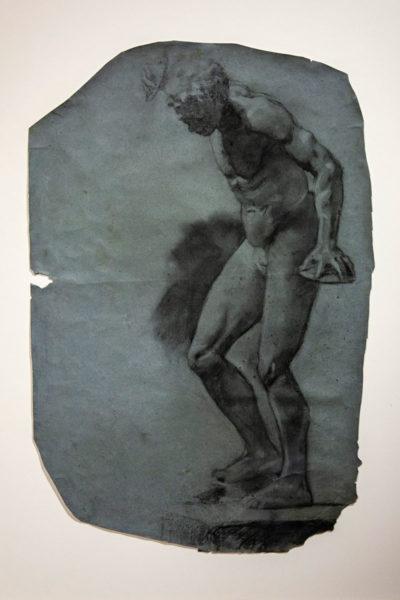 Dipinto di Picasso - rifacendosi all'arte classica - Condizionamenti dal Louvre
