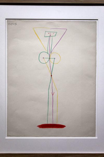 Disegno di Donna con Braccia alzate - Picasso