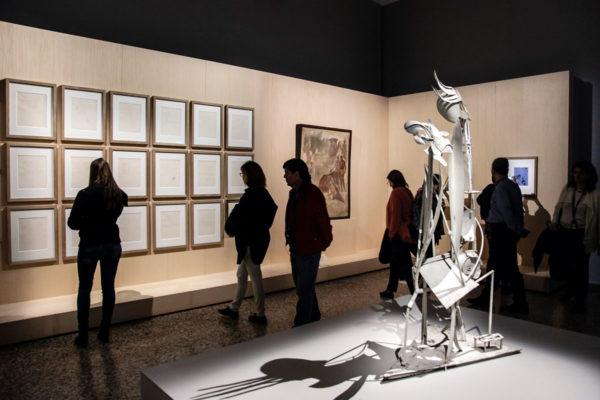 Donna in Giardino e Illustrazioni per l'Ovidio - Pablo Picasso