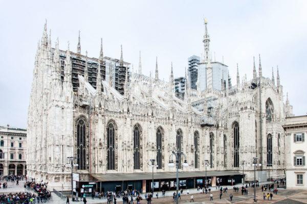 Duomo di Milano - Vista Laterale