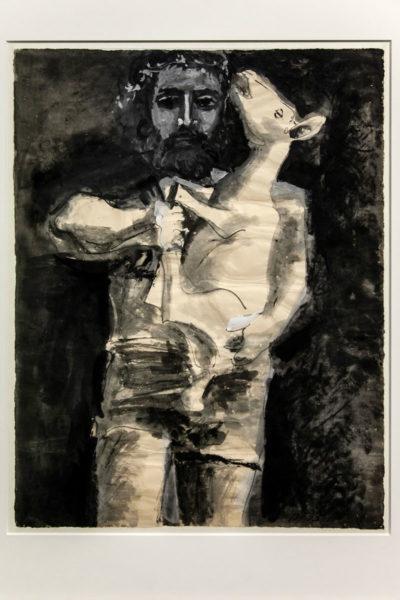 Figura maschile con agnello - Alla fonte dell'Antico - Il Louvre