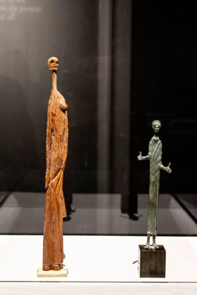 Figure lignee di Picasso - Statuette di Donne
