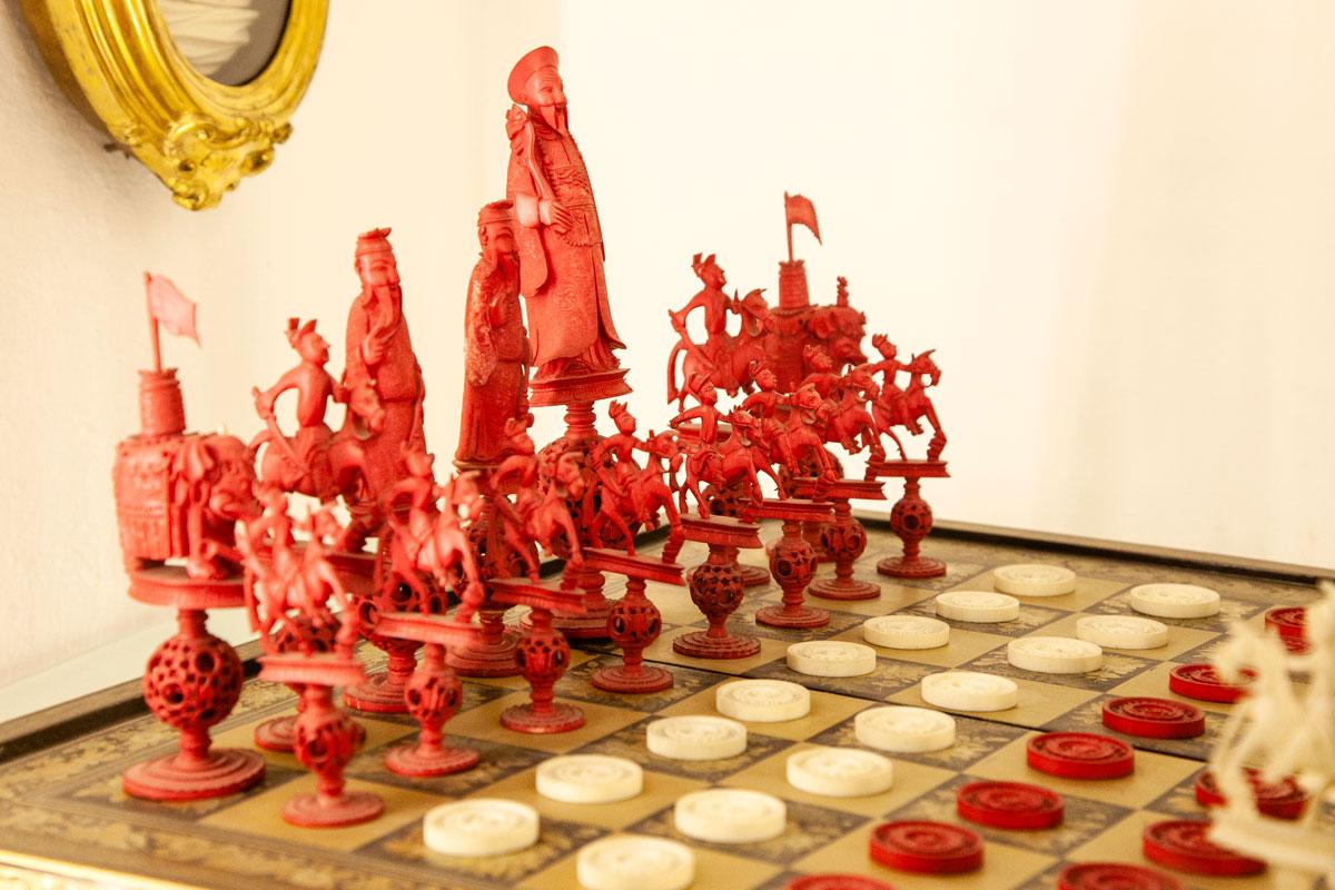 Gioco degli scacchi storico - MAEC