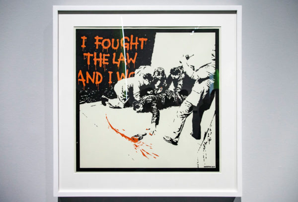I Fought the Law - Banksy