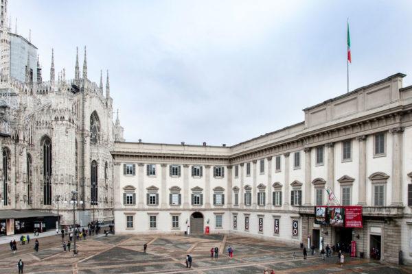 Ingresso di Palazzo Reale - Arte a Milano