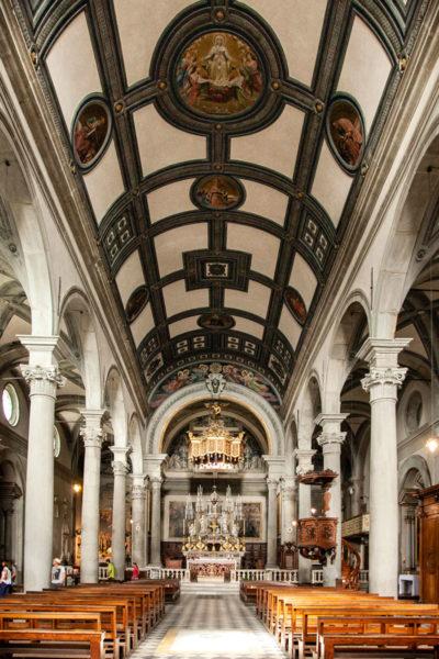 Interni della Cattedrale di Santa Maria Assunta di Cortona