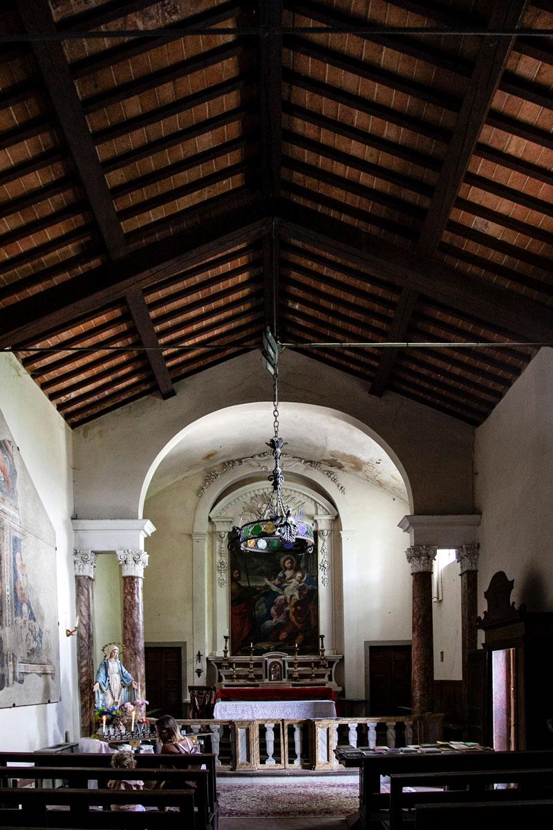 Interni della Chiesa di San Cristoforo - Cortona
